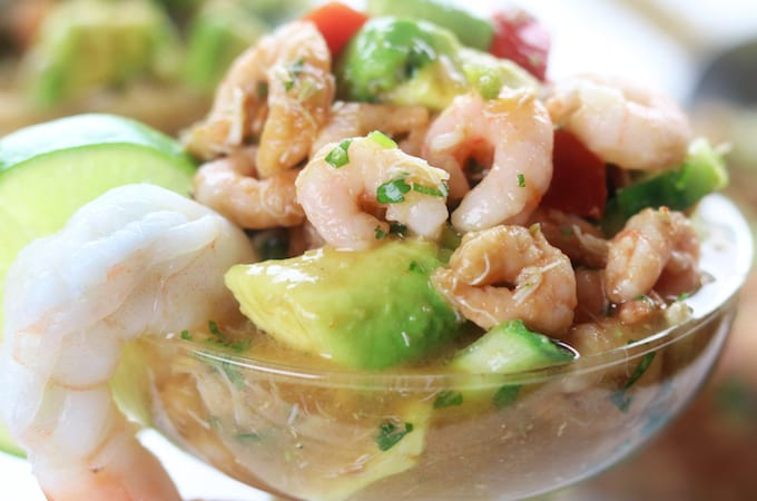 Mexican Seafood Cocktail Recipe