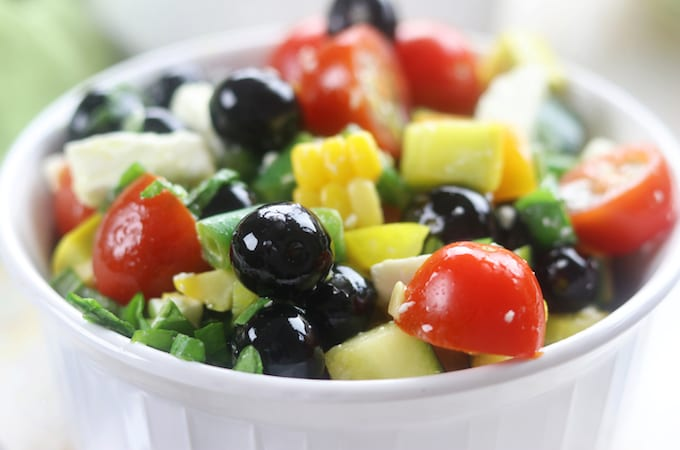 Summer Chopped Salad Recipe