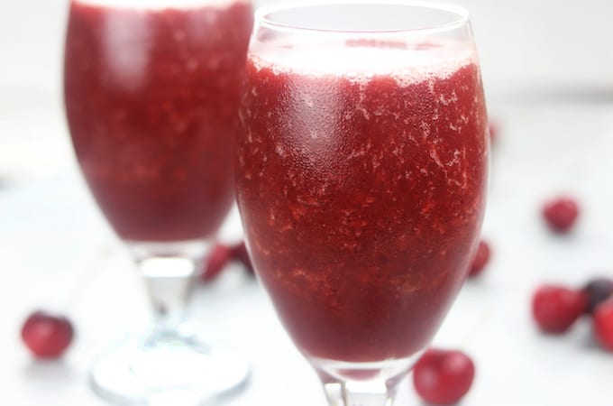 Cherry Wine Smoothie
