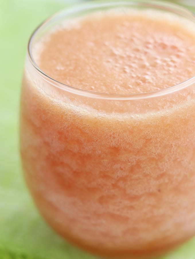 Grapefruit Wine Smoothie