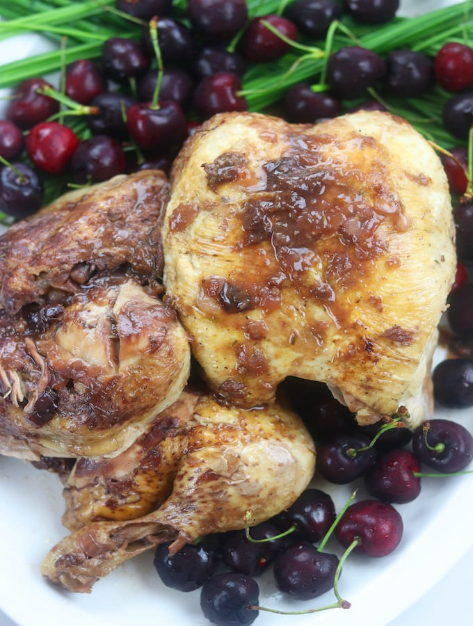 Instant Pot Cherry Chicken