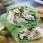 Instant Pot Greek Chicken Wraps