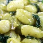 Easy Weeknight Spinach Pesto Gnocchi