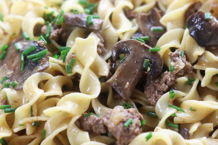 Beef Stroganoff Recipe with Ground Beef