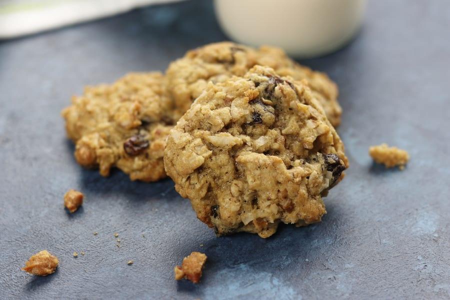Oatmeal Raisin Coconut Pecan Cookies