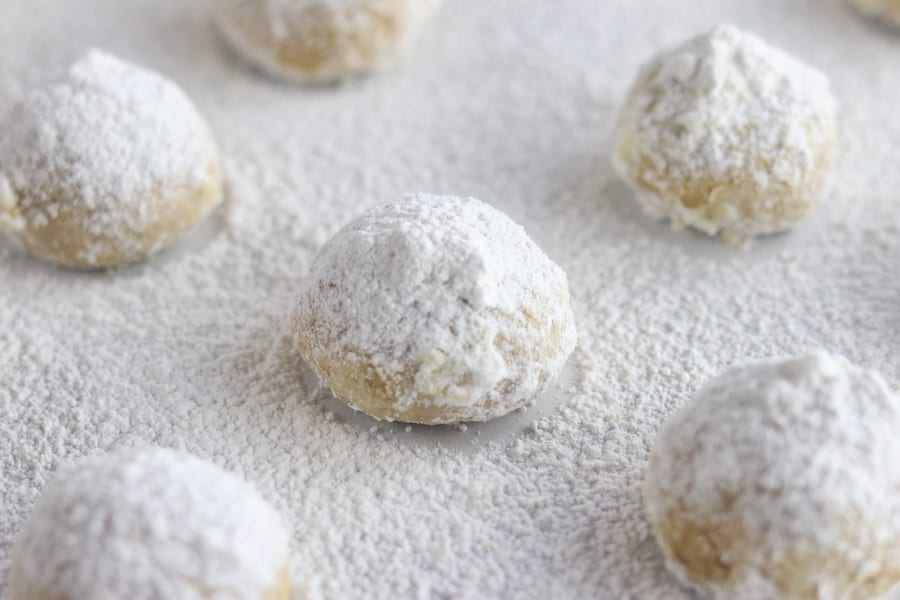 How To Make Mom S Easy Walnut Balls The Fed Up Foodie