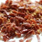 Crispy Prosciutto for Lemon Garlic Pasta