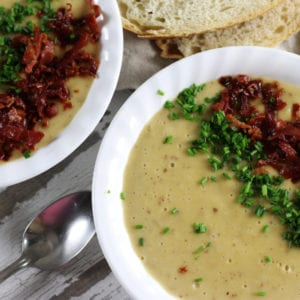 Slow Cooker Red Potato Soup