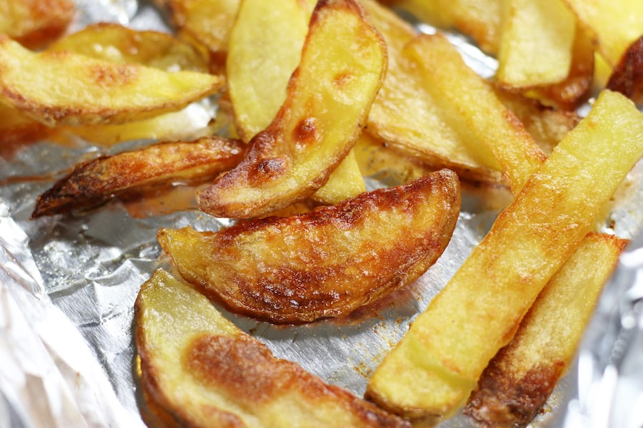 Homemade French Fries In Oven