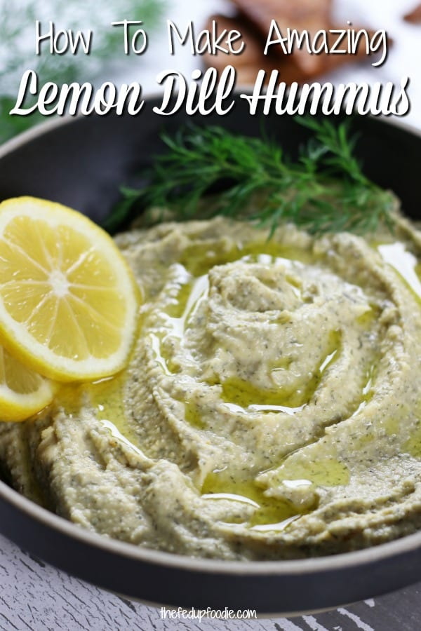 Fresh and delectable, this Lemon Dill Hummus is so easy to make in just about 10 minutes. Works beautifully as a healthy snack, appetizer or condiment. Naturally gluten free and one of my favorite recipes to keep on hand during summer months. 