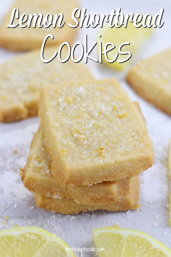 Sweet and buttery, Lemon Shortbread Cookies are simple cookies perfect for holidays, special events or just as a treat for lemon lovers. 