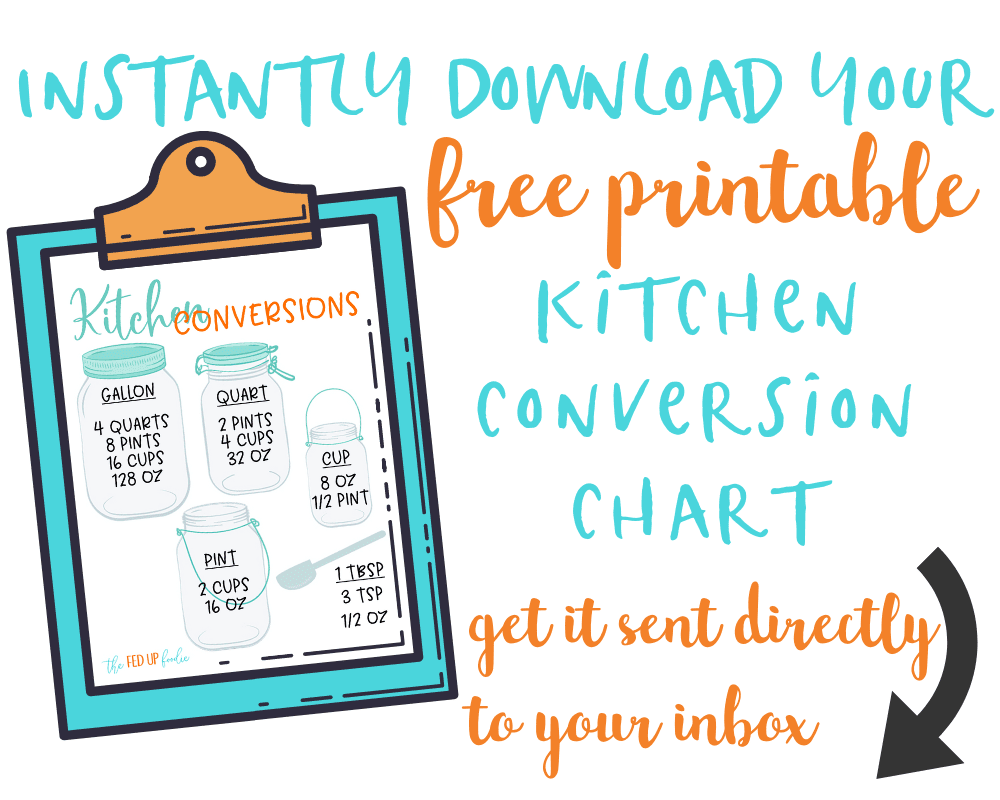 Free Printable Conversion Chart