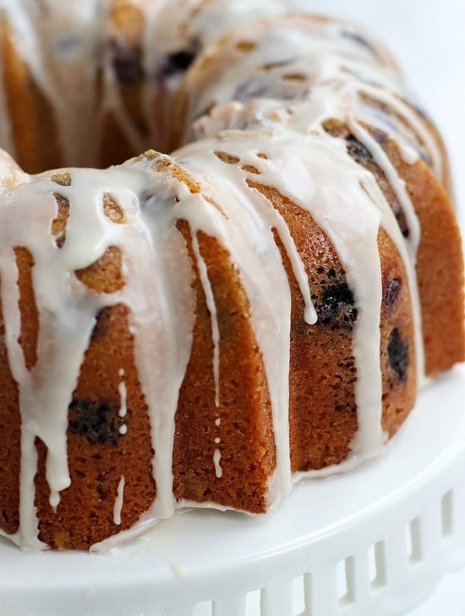 How To Make Luscious Lemon Blueberry Bundt Cake