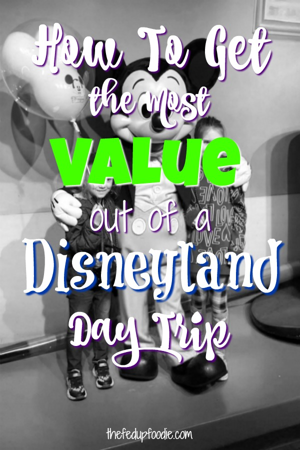 Doing a Disneyland day trip can be an awesome experience for both kids and adults. The trick is having the right game plan. As a native Southern Californian who has been to Disneyland about 18 bazillion times, here are my best tips for having the most enjoyable time with just one day. #DisneylandTips #DisneylandDayTrip #DayTripToDisneyland #OneDayDisneylandTrip https://www.thefedupfoodie.com