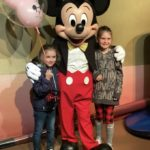Mickey Mouse Posing with Guests