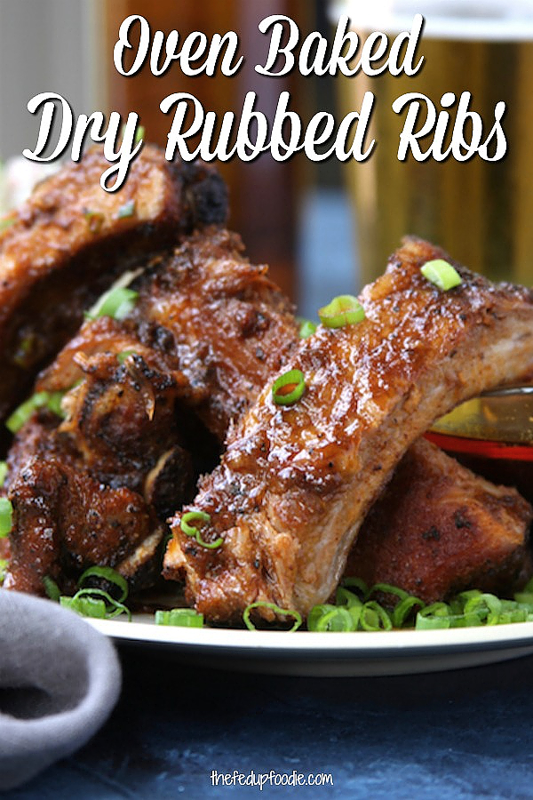 This Dry Rub Ribs recipe makes the best summer dinner. The low and slow cooking creates juicy fall off the bone meat that is full of flavor. 