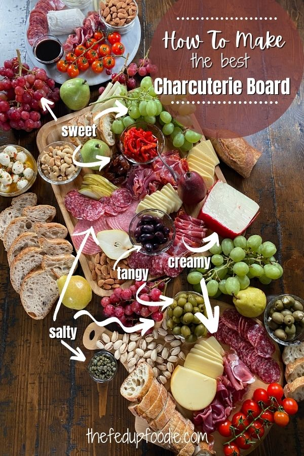 Simple ideas on How to Make the Best Charcuterie Board. Mix and match with your favorite meats, cheeses, nuts and fruits using various boards. This Charcuterie Board is perfect for the holidays. An absolute crowd pleaser! 