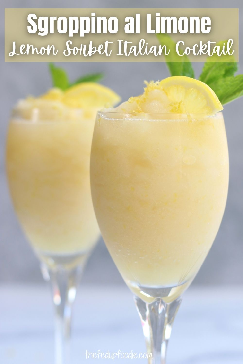 Made with Lemon Sorbet (or gelato), Prosecco and chilled vodka, Sgroppino is a heavenly after dinner cocktail that is extremely easy to make. This drink is perfect for celebrations, served after a heavier meal or as a dessert for lemon lovers. #Sgroppino #SgroppinoCocktails #SgroppinoAlLimone #ItalianDrinksAlcohol #ProseccoCocktailsEasy #ItalianCocktailsRecipes #LemonItalianIceCocktail #LemonVodkaDrinks #LemonVodkaCocktails #DessertCocktails #CoolCocktailRecipes #AfterDinnerCocktails